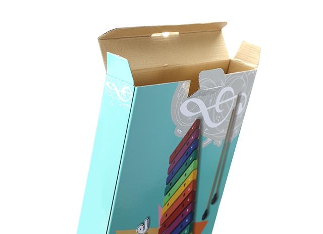 開口式設計紙盒