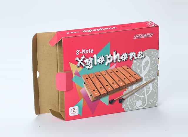 木琴包裝紙盒