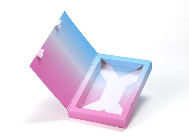 上翻書型盒