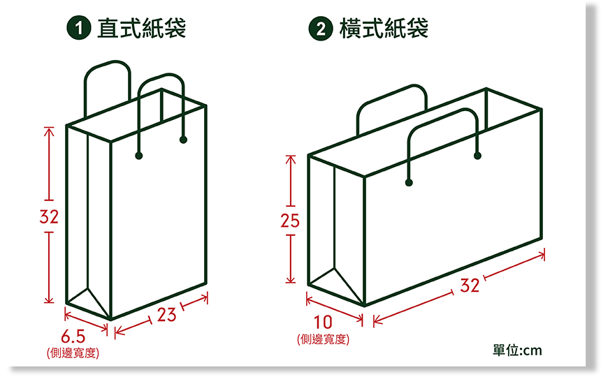 客製化紙袋設計